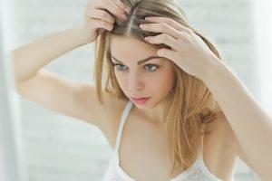 תחילתה של נשירת שיער ושיער דליל?